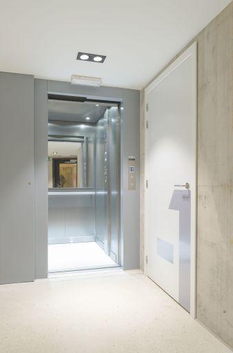 Lift zonder machinekamer door Verolift