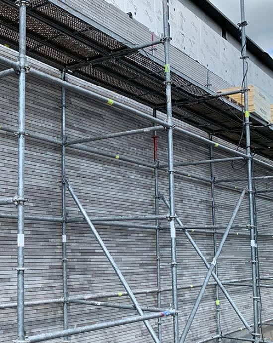 De bouw van onze gloednieuwe showroom, kantoorruimtes en magazijn in Sint-Martens-Latem